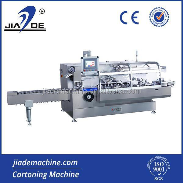 high speed hot glue cartoning machine