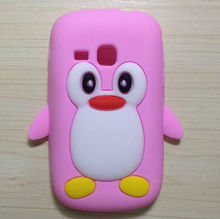for Samsung Galaxy mini 2 S6500 penguin mobile phone case