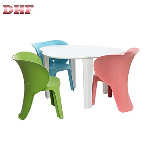 DHF Modern Comfortable Designer Children Plastic Kids Chairs Party Child Chair