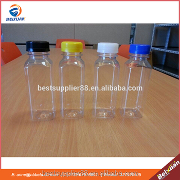 250ml mini plastic milk bottles
