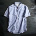 New design your own brand clothing cotton casual shirt oxford shirts mens