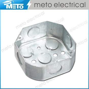 2016 new design electric metal junction box/electrical metal switch box