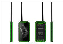 IP68 Rugged Waterproof Mobile Phone with Walkie-talkie Shockproof Dustproof GPS Android 4.4.2
