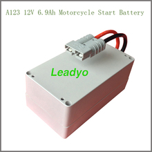 Manufacture 12V 7Ah Motorcycle Start Battery use A123 Cell High Quality
