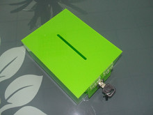 Manufacturer supplies elegant standing donation boxes