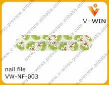 whlosesale eva nail file custom printed disposable nail file emery board paper file
