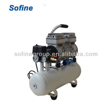 CE Certificate Dental Silent Oil Free Air Compressor Portable Dental Compressor