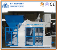 QTM18-15 mobile block making machine for concrete blocks
