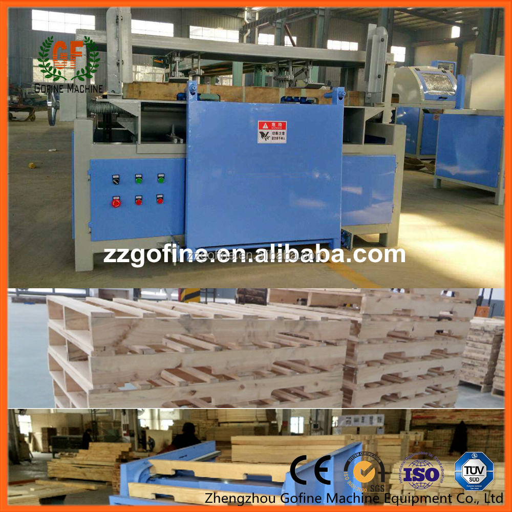 high quality wood pallet notching machine