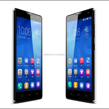 hot sell huawei honor 3c 5inch screen dual sim android 4.2 faster response and less reflective smartphone
