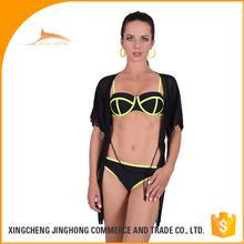 frozen bikini fission beachwear swimsuit with sublimation printing