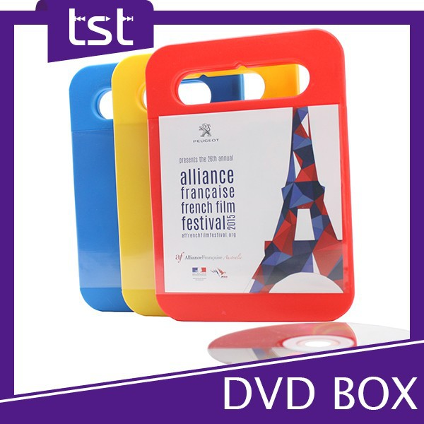 High Quality Packaging & CMYK Printing Cover DVD Case