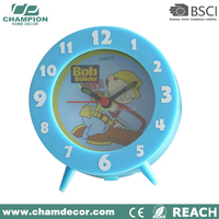 Cartoon table original alarm clock , kids sunrise alarm clock pictures