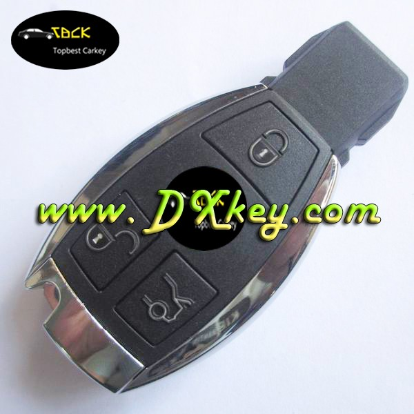 High quality 433MHZ 3 button BGA remote car keys for mercedes benz key mercedes key remote