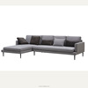 Carolina Grey Fabric Sectional Couch