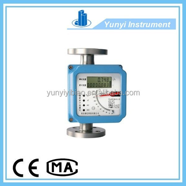 Hot sale lcd metal tube digital air rotameter price