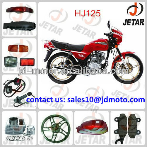 Chinese haojue 125cc moto parts