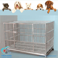 good quality stainless veterinary small animal cages