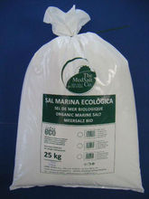 ORGANIC SEA SALT 25kg/packet