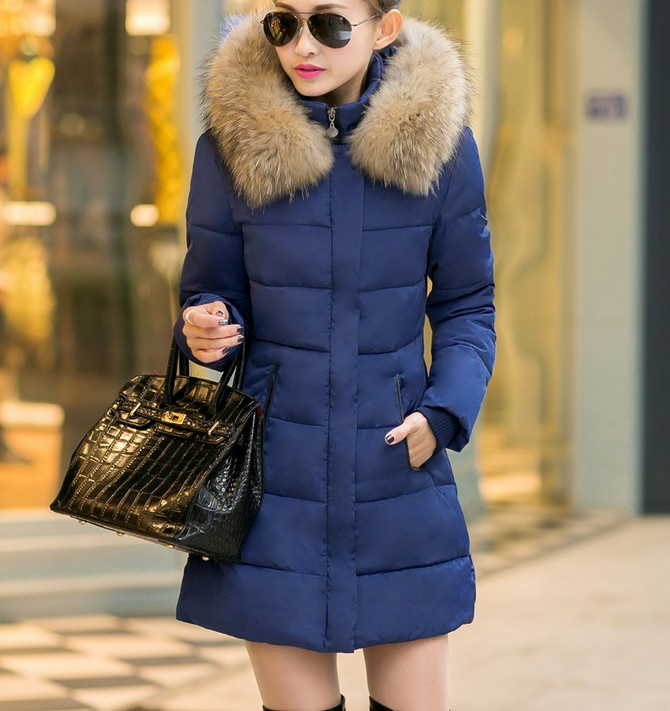 ladies fashion clothing cheap women winter fur coat