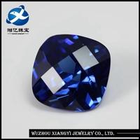 Polished Synthetic Diamond Square Cushion Cut 6x6mm or Custom 1 Carat Cubic Zirconia
