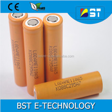 New Products LG 18650 ME1 2100mAh 3.7V Li ion battery cells LGDAME11865 Rechargeable 18650 Batteries