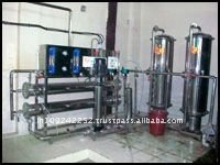 water treatment and bottling plants