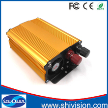 High Efficiency 300W DC12V/24V to AC110V/220V Single Phase Power Inverter With Muti-protection Function(Gold)