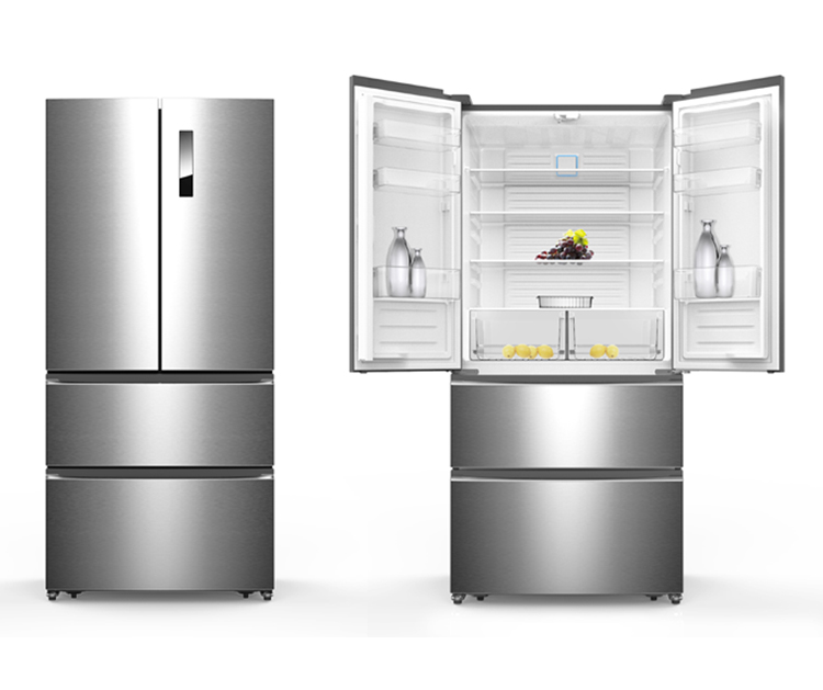 558L Big Capacity Side By Side Frigo French Door Refrigerators, View ...
