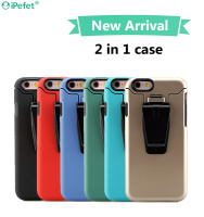 Durable Hot Selling Heavy Duty Armor Belt Clip TPU+PC Combo Cell Phone Case For iPhone 5 5s