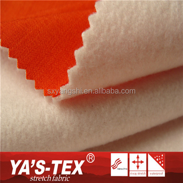China Wholesale Water Resistant TPU Fleece Stretch Polyester Breathable Membrane Fabric For Jacket