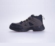 Hot Sale OEM Sport Safety Boots , Mens Genuine Leather Safety Shoes Steel Toe Factory Price , Safety Footwear Wholesale