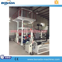 Durable polythene nylon bag plastic pe blowing hdpe film machine