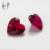 Heart shape ruby price per carat