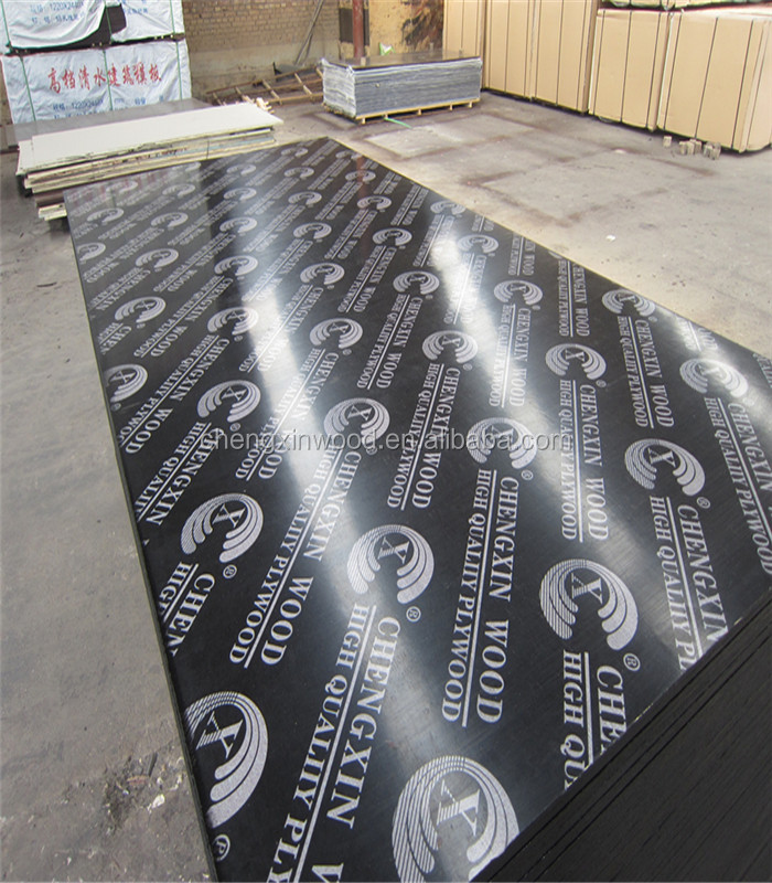 Wholesale two times hot press brown film faced plywood 18mm for construction