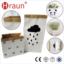 Wholesale Kraft Paper Shopping Bag Organizer
