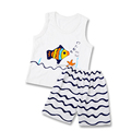 children clothing sets colourful printed summer cotton short sleeve clothing sets