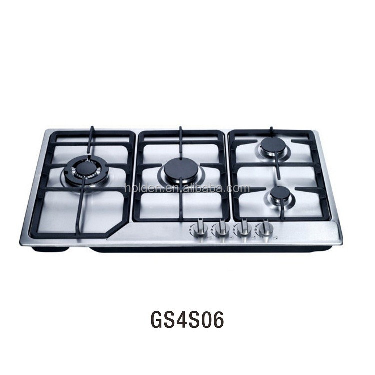 GS4S06 2017 hot sale new product 4 burner gas cooker