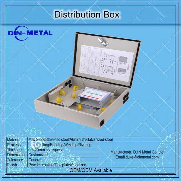 CE Aluminum Control Metal Enclosure Electrical Outdoor Distribution Panel Box