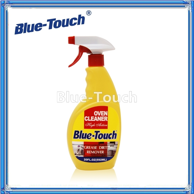 Blue-Touch biodegradable degreaser cleaner easy off oven grill cleaner with trigger spray 20 FL.OZ(600ml)