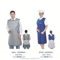 2016 comfortable CE approved x-ray radiation shielding apron