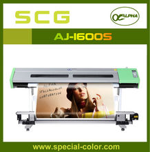 DX5 1440dpi Inkjet Printer eco solvent 1.6m eco solvent plotter