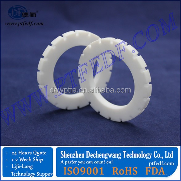 PTFE machined parts teflon gear
