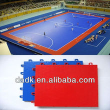Assembly interlocking sport court flooring/futsal court