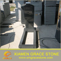 G654 Padang Dark Black Stone-Russian Headstone