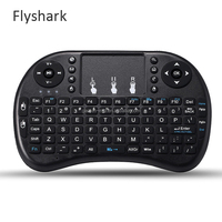 Mini Keyboard Rii i8 Russian English airmouse Multi-Media Remote Control Touchpad Handheld for Android TV BOX Notebook Mini PC