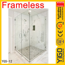 Glass sliding Shower Door for glass shower room