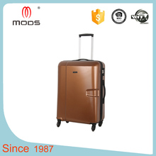 waterproof classic hard plastic royal trolley luggage suitcase storage