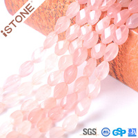 8X10mm Rose Quartz Beads Crystals Healing Stones