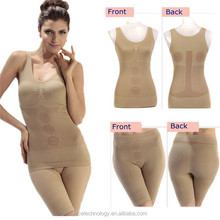 Sexy slim tummy tuck beauty body suit burn fat shaper good quality breast up fir women shapers